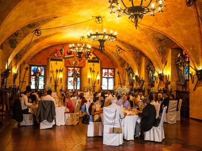 Hotel Kampa - Old Armoury - Wedding Reception